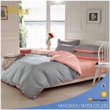 Wholesale 100% Natural Cotton Fabric Hypoallergenic Hotel bedding set