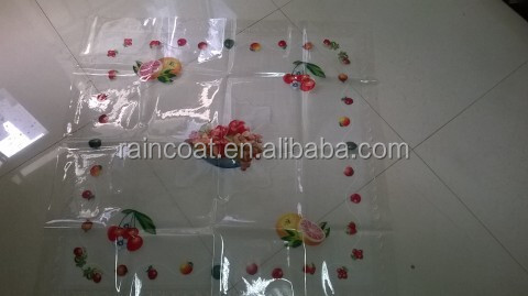 PVC waterproof table cloth film