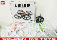 Amazing and newest LS-125 2.4G RC bumblebee quadcopter with gyro and LED