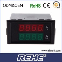 DL69-2042 low price small type Current Voltage meter Digital Combination Meter