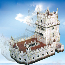 Funny brain teaser games 3d belem tower puzzle