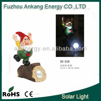 China manufacture Christmas decoration solar led lights for crafts