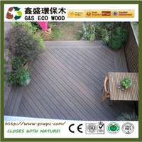 2016 hot sale! Outdoor WPC board decking anti-uv wood plastic composite decking kennel floor with low price