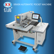 Automatic jean patch pocket welting sewing machine pocket setter/Jeans pocket sewing machine