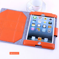 new 2014 leather case for ipad mini products made in china