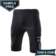 OEM/ODM Compression Shorts/ Polyester Spandex Mens Compression Running Shorts