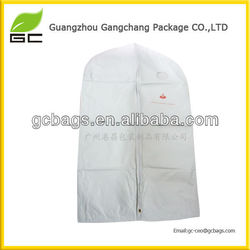 nonwoven,Non-woven Material and Garment Cover Type black garmetn bag