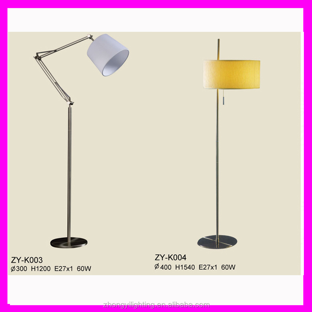 Modern 360 degree nimble floor lamp matching varied steel colorful lampshade customize buy - Factors to consider when buying a floor lamp ...