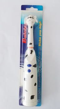 lovely kids tooth brush with dog cover