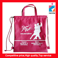 Promotion Handle Drawstring Non Woven Backpack