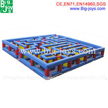 2013 adult inflatable mega obstacle course/most interesting obstacle course game