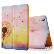 top painting case for ipad4 ,smart cover leather tablet bumper