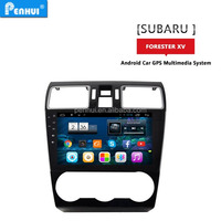 PENHUI Android 4.4 quad core Car PC GPS for Forester XV 2015 Support Wifi+3G+RDS+BT