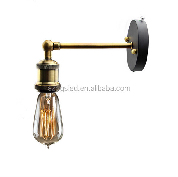 Oriental Vintage Wall Light Lamp Lights Brass