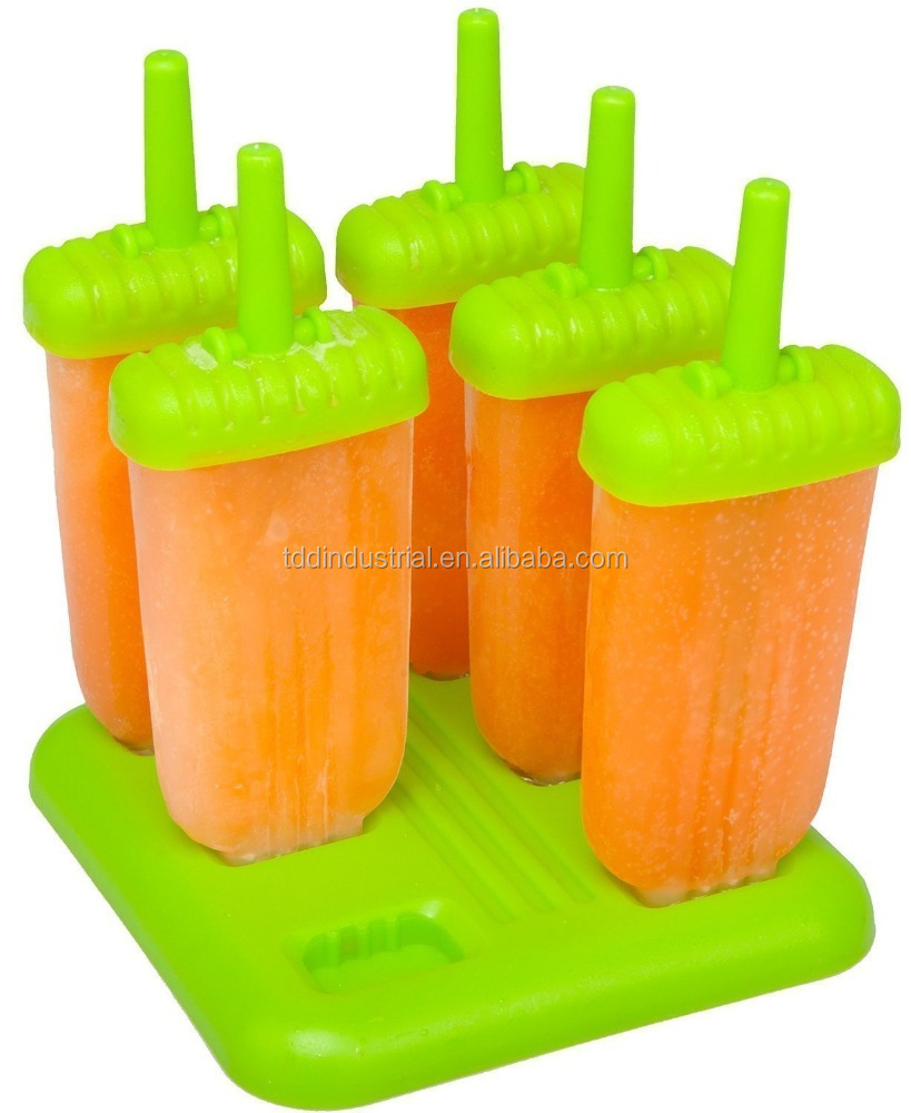 Popsicle Molds - Ice Pop Maker - Bpa-free Popsicles with Tray and Dripguard Function