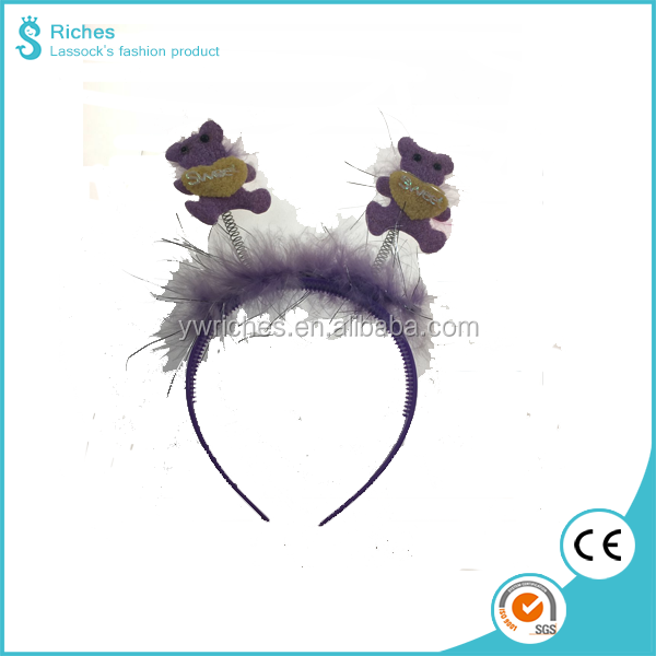 Yiwu Riches Sweeet Bear Ears Headband, Birthday Party Decoration for Kids
