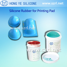 RTV2 printing silicone rubber, liquid silicone for pad printing