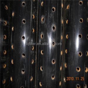 manufacture API standard perforated steel pipe for drainage