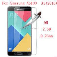 2016 Screen Protector Film Front Premium Tempered Glass For Samsung Galaxy A5 A7 2016 A510F A710F S3 S4 S5 S6 Note3 4 5
