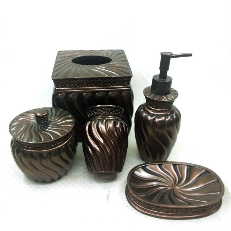 Simple Style Wholesale Bathroom Accessories ORB Hotel/Home Accessory Set
