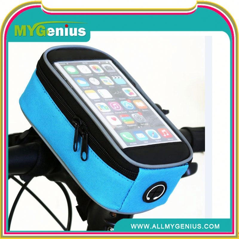 Cycling bike frame pannier H0Tbgy waterproof gps case