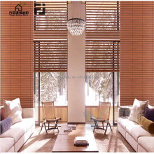 FANGJU Motorized /Electric Venetian Blinds Aluminum Head Rail for Solid Wood Venetian Blind Slats