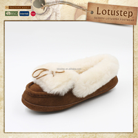 Ladies Comfortable Genuine Leather Moccasin Shoes