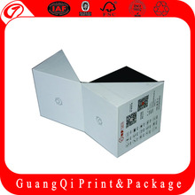 logo printed collapsible paper box factory in guangzhou