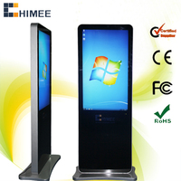 42 inch WIFi RJ45 metal case floor standing all in one pc lcd screen(HQ420-C10,i3,i5,i7 cpu)