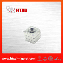 Neodymium trangle countersink magnets supplier