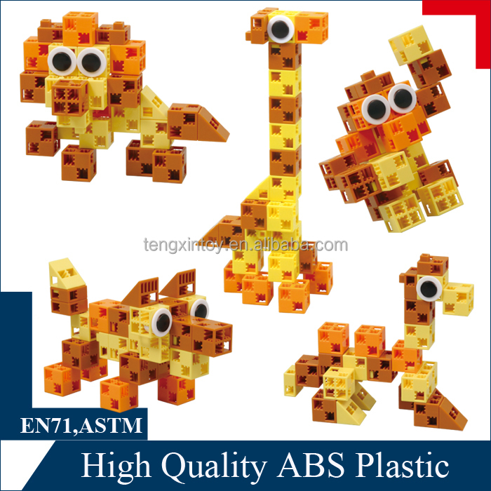 Fancy Block Set - plastic camel toy for boy and girl