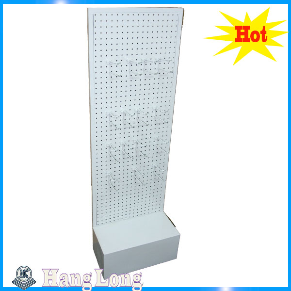 Supermarket Metal Double Side Walmart Shelf HL004G