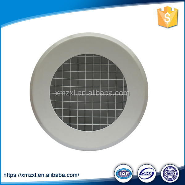 Round Egg Crate Air Duct Grille