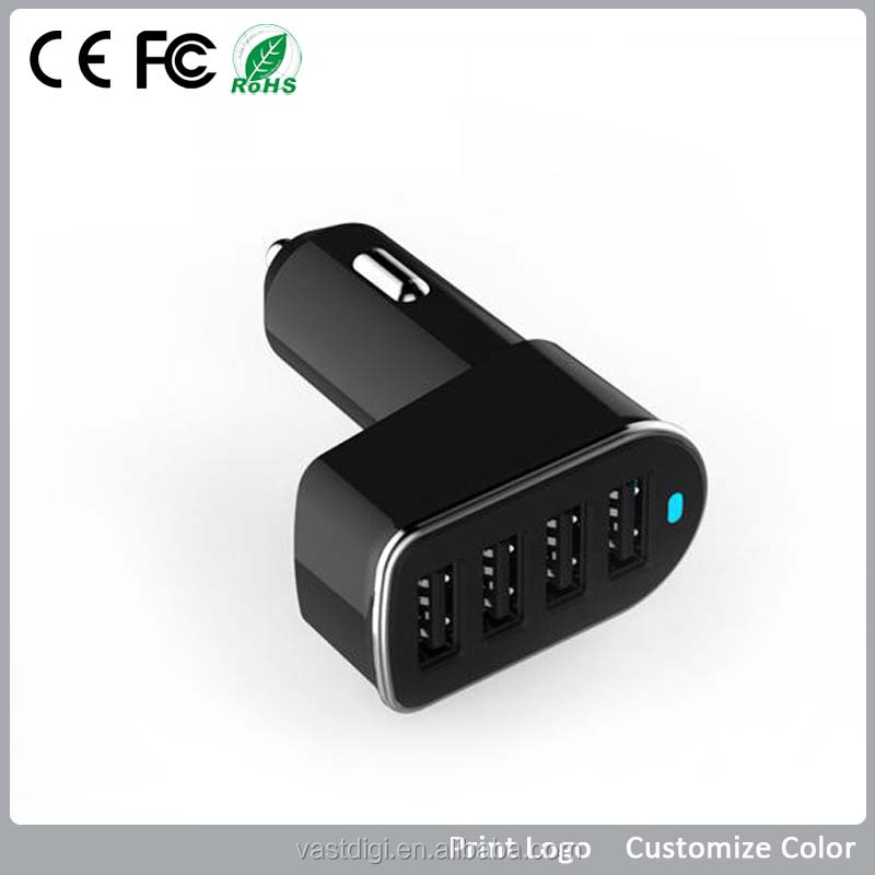 for promotion gift 4 slots super fast charge car battery charger