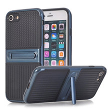Hot selling carbon fiber TPU PC protective mobile phone case for iphone 6 Plus