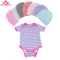 Fashion Cute Toddlers Baby Clothes set Spring Newborn Cotton Romper Cheap Kids Rompers Blank Infant Romper