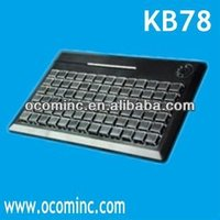 KB78 without MSR standard 78 Keys soft key keyboard
