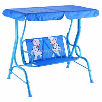 Cartoon Kids Swing Chair Children Outdoor Hanging Porch Swing Chair 2 Person Patio Kids Swing