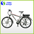 Magnesium Alloy Wheel Full Suspension Electric Mountain Bike 36v350w