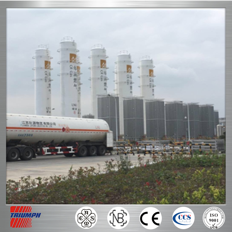 professional vacuum insulated asme standard cryogenic lng tank used