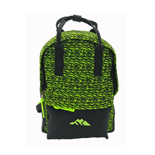 Super light school outdoor bag kids knitted fabric backpack