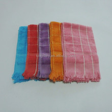 fringed 60g cotton furniture cleaning cloths