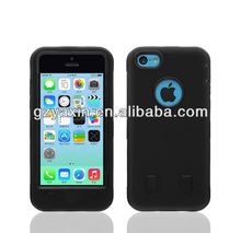robot covers phone case for iphone 5c,useful cell phone case for Iphone 5c,shockproof case for cell phone cover black