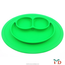 New design baby silicone placemat plate
