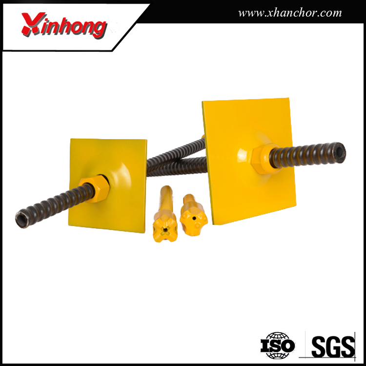 good quality r25 corrosion galvaized soil nailing reinforcing steel anchor rods