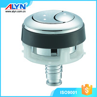 2016 diameter 38 ABS chrome toilet top push button