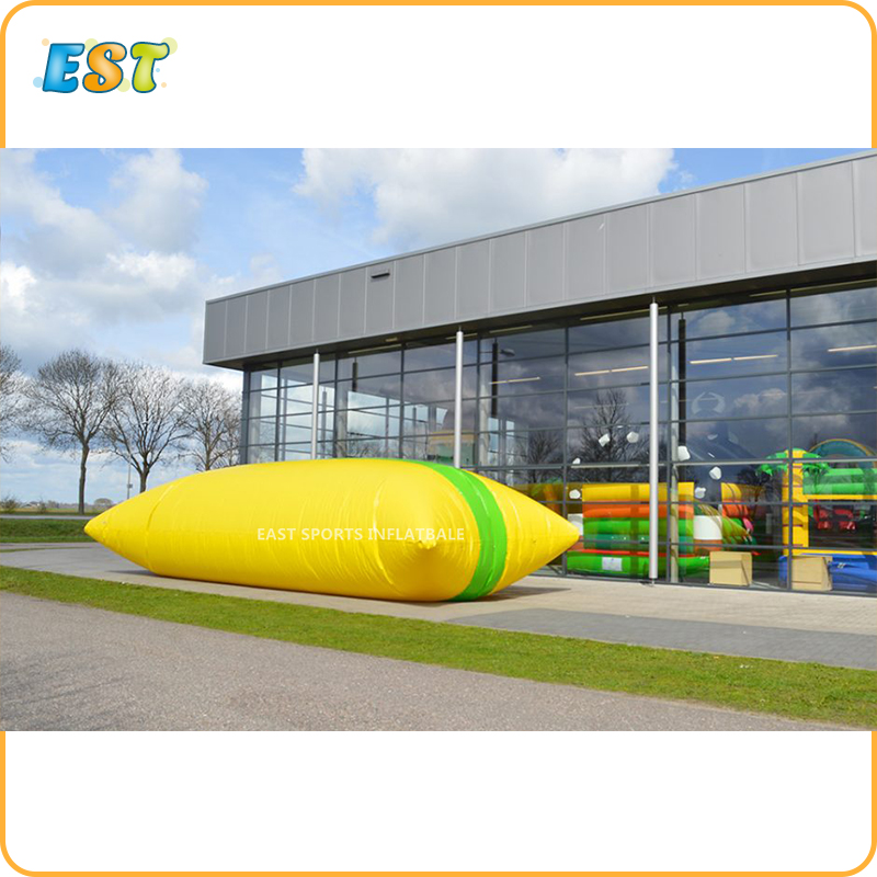 Free Delivery 6x2m high quality inflatable <strong>water</strong> catapult blob , the blob inflatable toy , <strong>water</strong> blob jump uk for sale