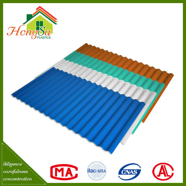 Competitive price corrosion resistance Beauty plastic shingle roof