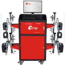 sophisticated smart CCD wheel alignment