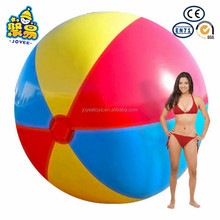Inflated 300cm big pvc inflatable giant beach ball